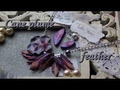 [♥✿ Tuto Fimo : cane plume ✿♥] ~ [♥✿ Polymer Clay Tutorial : cane feather ✿♥] - YouTube