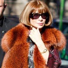 Anna Wintour. One of Forbes 100 Most Powerful Women 2012