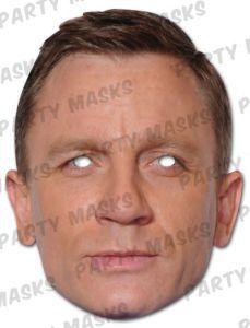 Mask-arade Impersonation//fancy Dress Bruce Forsyth Celebrity Face Card Mask