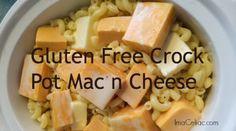 Gluten Free Crock Pot Mac n Cheese - I'm A Celiac