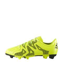 e09d949a7 Adidas Football Boys Cleats X15 3 Firm Artificial Ground Boots B26968 Yellow