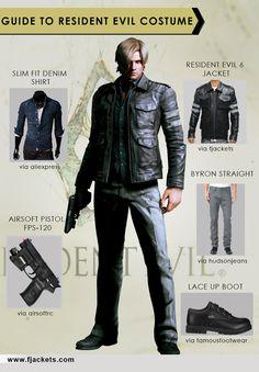 Resident Evil Halloween Costume                                                                                                                                                                                 Más
