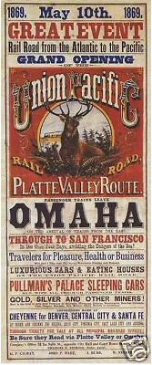 Union Pacific 1869 Grand Opening