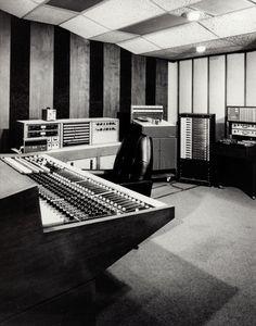 Ardent control room, Spectrasonics console