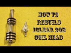How to rebuild iClear 30B coil head - http://atomizerwicksupplies.com/how-to-rebuild-iclear-30b-coil-head/