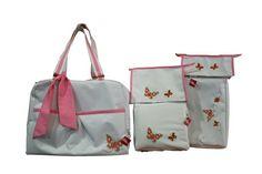 #maruzubiriadf #babygirl #baby #pink #babystuff #bag #laundry #bib #butterfly #customizeyourlife #mynameonit