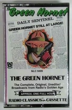 The Green Hornet 1977 Radio Classics on Cassette - Sealed #RadioPlayShow