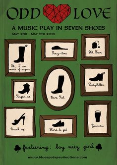 ODD LOVE – a music play in seven shoes