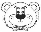 This fun-loving bear can be personalized by the child to create their own Teddy!  You can build the sound images  you see on the Mouth Position cards by using manipulatives to CONSTRUCT them!