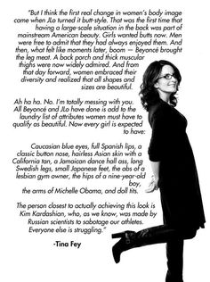 Tina Fey breaks it down