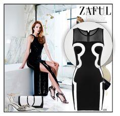 """www.zaful.com/?lkid=4562 25"" by blagica92 ❤ liked on Polyvore featuring moda y zaful"