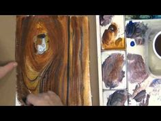 ▶ How To Paint Wood With Watercolor - YouTube