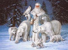 """Elizabeth Goodrick-Dillon. Morozko, (""""Mrazík"""" in west Slavic, or """"Djed Mraz"""" in South Slavic), is the Slavic patron of winter, an Eastern Slavic Santa Claus"""