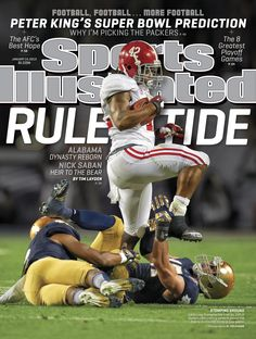STOMPING GROUND: Eddie Lacy and BCS National Champions Alabama are your cover this week. http://on.si.com/WtNmnp  //