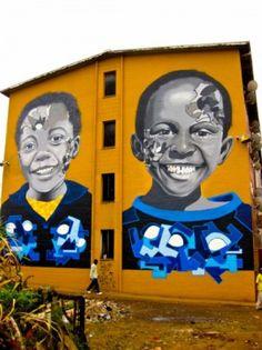 Street art in Zimbabwe by Karski http://shar.es/gETt7 yep