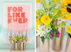 Make a Modern Spring Centerpiece Using Just Gold Spray Paint and PVC Pipe | eHow Home | eHow