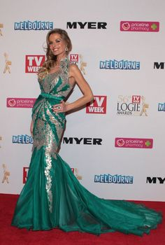 Cool Red Carpet Fashion The gowns on the Logies 2014 red carpet were consistently fabulous and not a fas...