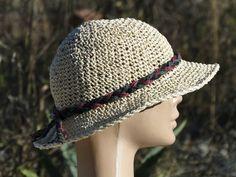 Crochet Hat N45 Handmade Elegant Crochet Spring/Summer by obence