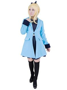 Cuterole Womens Ayase Eli Cosplay Anime Love Live Costume >>> Details can be found by clicking on the image-affiliate link.