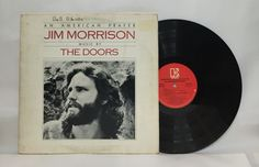 "The Doors- An american Prayer 12"" vinyl record album lp"