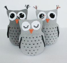 Educational and interesting ideas about amigurumi, crochet tutorials are here. Owl Crochet Pattern Free, Crochet Birds, Crochet Animals, Knit Crochet, Free Pattern, Owl Pillow Pattern, Amigurumi Doll, Amigurumi Patterns, Amigurumi Free