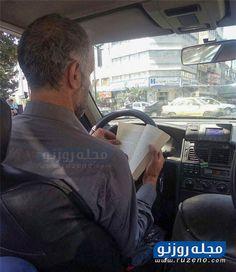 اقدام جالب یک راننده تاکسی پشت چراغ قرمز (تصویر)|مجله روزنو