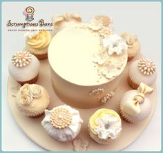 Big Cake Little Cakes : Brooches & Ruffles