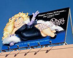 Miss Piggy Billboard by Peter E. Lee