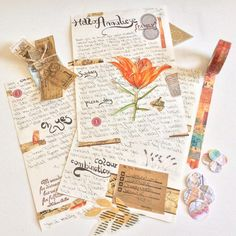 """pinner wrote """"And here is my reply. Can't wait to create the fitting envelope now. Pen Pal Letters, Cute Letters, Letters Mail, Snail Mail Pen Pals, Snail Mail Gifts, Aesthetic Letters, Envelopes, Arte Sketchbook, Envelope Art"""