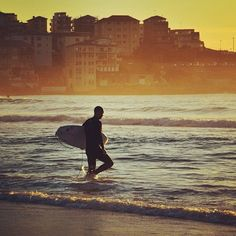 "@seeaustralia's photo: ""The #golden hour at #Bondi....with @paulyvella"""