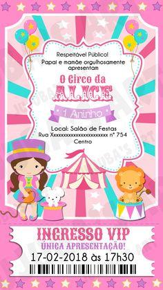 O circo da Ana Laura Baby 1st Birthday, Circus Birthday, Disney Birthday, Circus Theme, Circus Party, First Birthday Party Decorations, Carnival Birthday Parties, First Birthday Parties, First Birthdays