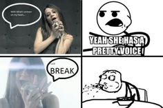 I'm So Sick- Flyleaf... That's so funny! My same reaction!!!!!!!!!!!!!!!! She has an amazing scream.