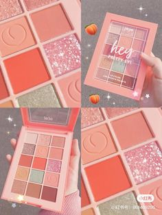 Peach Makeup, Soft Makeup, Glam Makeup, Makeup Kit, Makeup Cosmetics, Beauty Makeup, Kawaii Makeup, Cute Makeup, Ulzzang Makeup