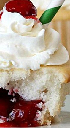 Cherry Pie Cupcakes. ❊