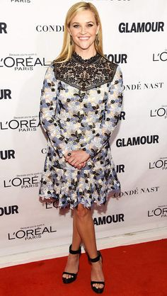 Best dressed at Glamour Women of the Year: Reese Witherspoon in a floral Erdem mini dress