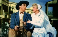 "Doris Day and Howard Keel in ""Calamity Jane"""