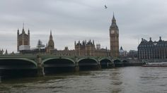 Always cloudy in London for some reason San Francisco Ferry, Big Ben, Cathedral, London, House, Building, Travel, Heart, Viajes