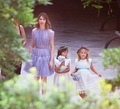Sofia Coppola's wedding. I never really think about my future wedding...but whenever I do, I want it to be as cute as Sofia Coppola's. SO FREAKIN' CUTE!!!!!!!1