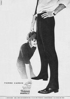Publicité Cardin 1961