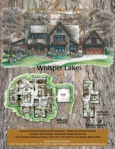 Whisper Lake Plan By MountainWorks Plans Home Index