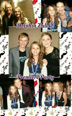 This was an amazing experience that I will never forget. Congratulations to the amazing cast of Dolphin Tale 2. Another amazing and beyond inspiring movie starring the most talented people (and dolphins) that I know. I really Hope to be an extra in the DT3 (If there is one) Being able to work with these amazing and beautiful animals seems like a dream to me....but is reality to these talented actors and actresses. And never forget that Family is Forever and that anything is possible with a…