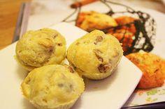 Colazione per tutti: Mini-muffins gorgonzola e noci...