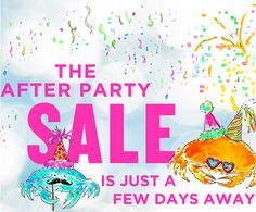 Lilly Pulitzer After Party Sale begins TOMORROW!