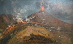 Johan Christian Dahl: The Eruption of Vesuvius