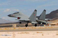 Indian Su-30 Mki at Nellis AFB