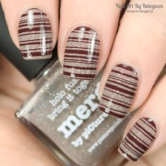Nail Art by Belegwen: Picture Polish Merge