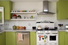 Elizabeth & David's Happily Growing Home and Garden House Tour | Apartment Therapy...oven!