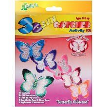 3-D Suncatcher Activity Kits - Butterfly by The New Image Group. $12.44. Includes: (6) 3D suncatchers, 8 cups No Drip Stain & 2 sparkle gel pens. Recommended for ages 5 and up. Glitter bags, applicators & instructions. Suncatchers are anything but flat! Now you can make your sun-catcher come to life in the land of 3D fun! It is easy, fun and a great way to decorate your room, school locker, doors, almost anything! This package contains (6) 3D suncatchers, 8 cu...
