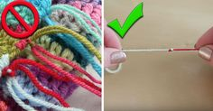 Yarn Hack: How To Seamlessly Switch Yarn Colors!