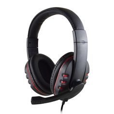65e06ff0a8b Headband Gaming Headset Wired Stereo Microphone Headphone Earphone For Ps4  Pc Computer Headphones, Pc Computer